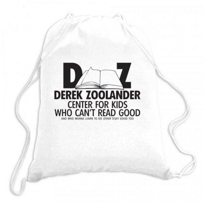Derek Zoolander Drawstring Bags Designed By K0d1r