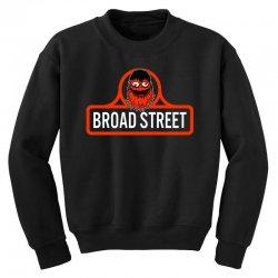 gritty broad street Youth Sweatshirt | Artistshot