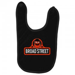 gritty broad street Baby Bibs | Artistshot