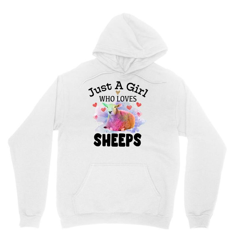 Just A Girl Who Loves Sheeps For Light Unisex Hoodie | Artistshot