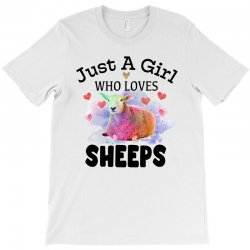 just a girl who loves sheeps for light T-Shirt | Artistshot