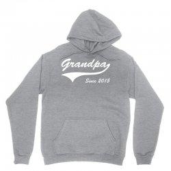Grandpa since 2015 Unisex Hoodie | Artistshot