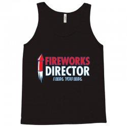 fireworks director Tank Top | Artistshot