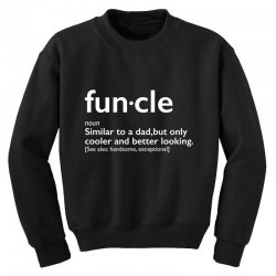 funcle Youth Sweatshirt | Artistshot