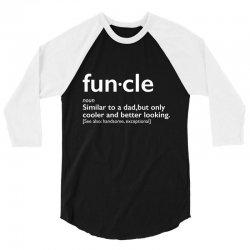 funcle 3/4 Sleeve Shirt   Artistshot