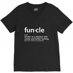 funcle V-Neck Tee   Artistshot