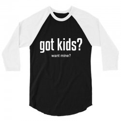 got kids 3/4 Sleeve Shirt | Artistshot