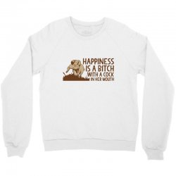 happiness mouth Crewneck Sweatshirt | Artistshot