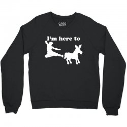 here ass Crewneck Sweatshirt | Artistshot