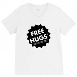 hugs apply V-Neck Tee | Artistshot