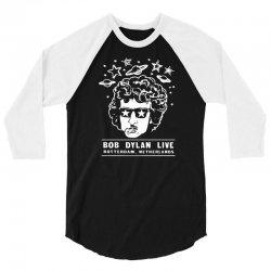 bob dylan t shirt vintage rock tee shirt 3/4 Sleeve Shirt | Artistshot