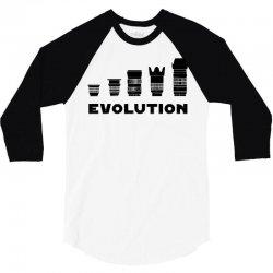 evolution photography 3/4 Sleeve Shirt | Artistshot