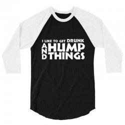 hump things rk 3/4 Sleeve Shirt | Artistshot