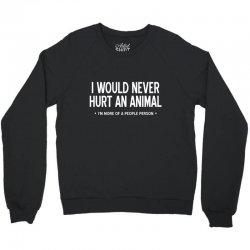 hurt animal Crewneck Sweatshirt | Artistshot