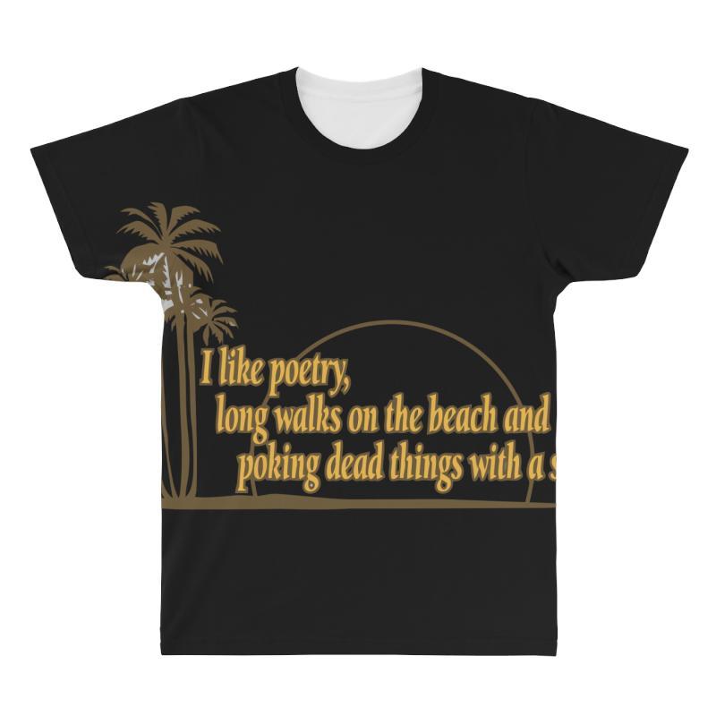 I Like Poetry All Over Men's T-shirt | Artistshot