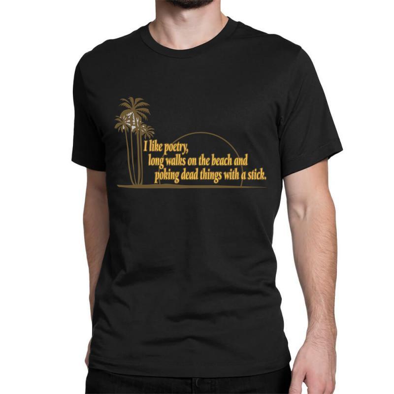 I Like Poetry Classic T-shirt | Artistshot