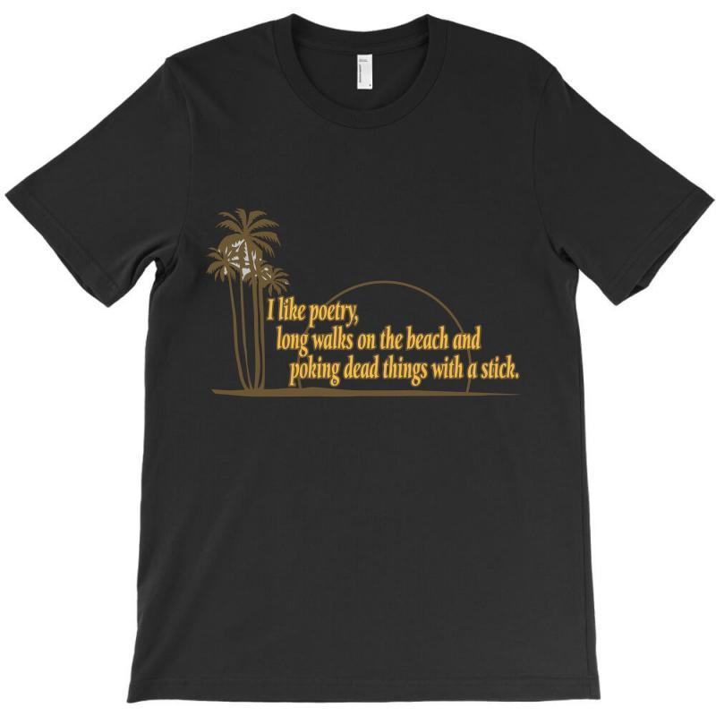 I Like Poetry T-shirt   Artistshot