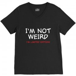 i'm not weird V-Neck Tee | Artistshot