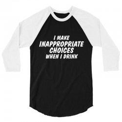 inappropriate rev 3/4 Sleeve Shirt   Artistshot