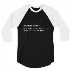 karmasutra 3/4 Sleeve Shirt | Artistshot