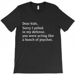 kids defense T-Shirt   Artistshot