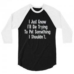 know pet 3/4 Sleeve Shirt | Artistshot