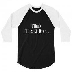 lie down 3/4 Sleeve Shirt | Artistshot