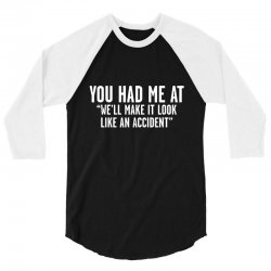 look accident 3/4 Sleeve Shirt | Artistshot