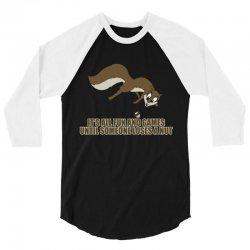 lose nut rk 3/4 Sleeve Shirt   Artistshot