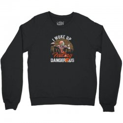 Dangerous football feeling football Crewneck Sweatshirt | Artistshot