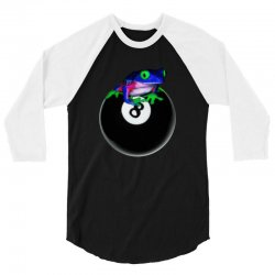 8 ball 3/4 Sleeve Shirt | Artistshot