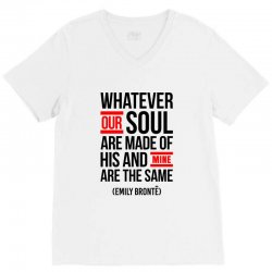 WHATEVER OUR SOUL ARE MADE OF V-Neck Tee | Artistshot