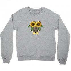 owl sunflower Crewneck Sweatshirt | Artistshot