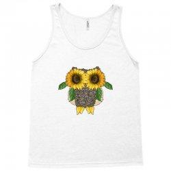 owl sunflower Tank Top | Artistshot