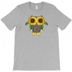 owl sunflower T-Shirt | Artistshot