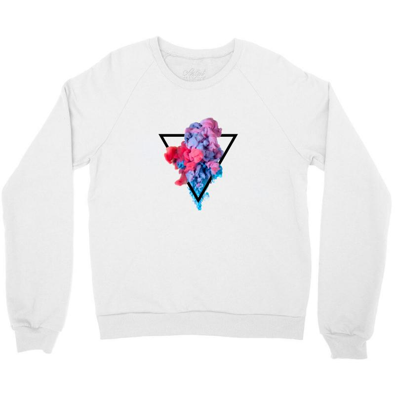 Splash Watercolor Blots A Crewneck Sweatshirt | Artistshot