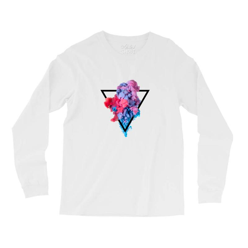 Splash Watercolor Blots A Long Sleeve Shirts | Artistshot