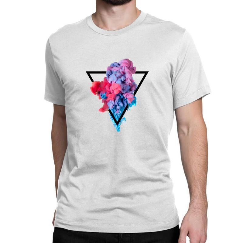 Splash Watercolor Blots A Classic T-shirt | Artistshot