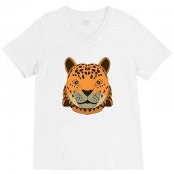 cheetah V-Neck Tee | Artistshot