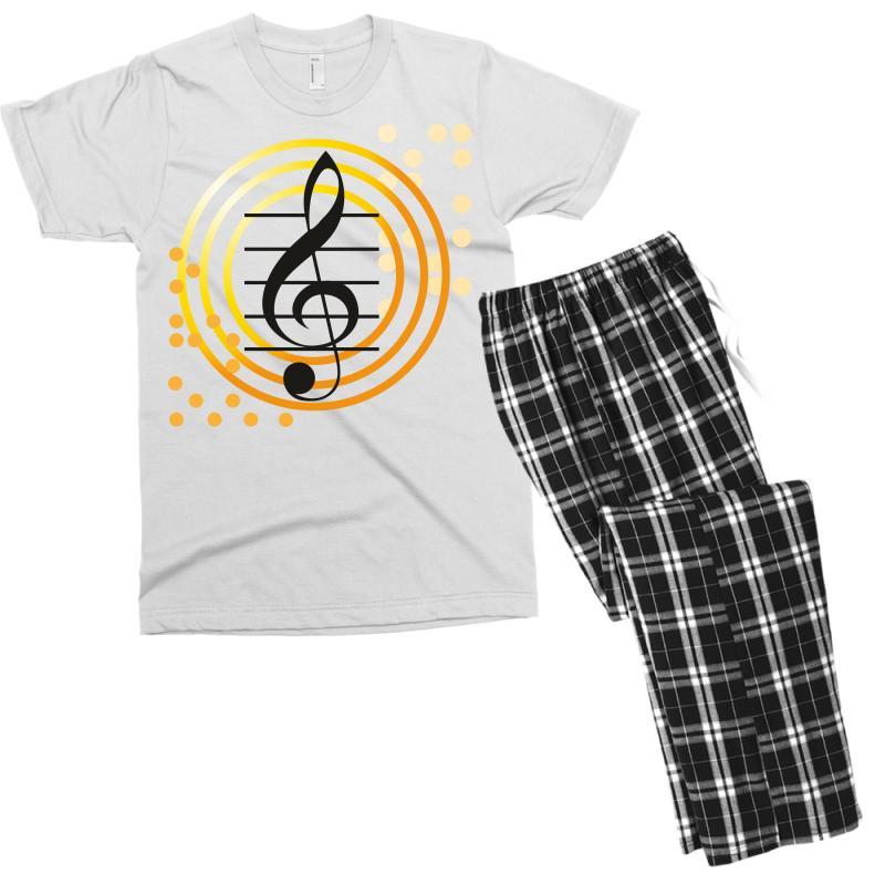 Music Men's T-shirt Pajama Set | Artistshot