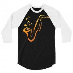 Music 3/4 Sleeve Shirt   Artistshot