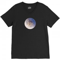 Moon V-Neck Tee | Artistshot