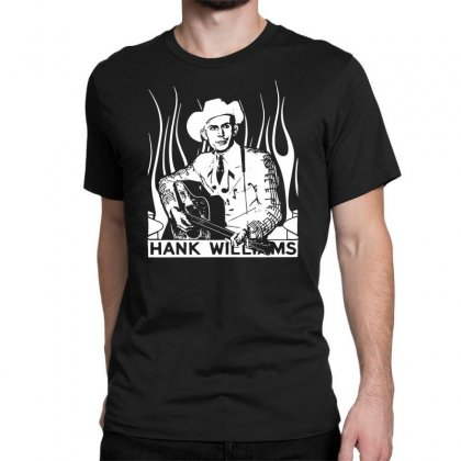 Hank Williams Sr. T Shirt Vintage Classic Country Outlaw Music Shirts Classic T-shirt Designed By Fanshirt