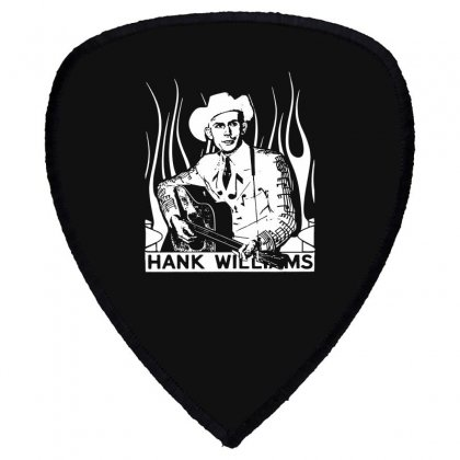 Hank Williams Sr. T Shirt Vintage Classic Country Outlaw Music Shirts Shield S Patch Designed By Fanshirt