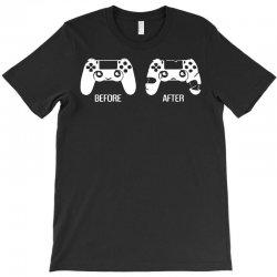 before after game T-Shirt | Artistshot