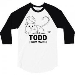 it's todd t shirt 3/4 Sleeve Shirt | Artistshot