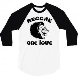 one love reggae 3/4 Sleeve Shirt | Artistshot