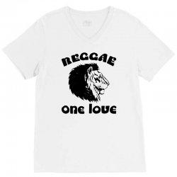 one love reggae V-Neck Tee | Artistshot