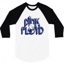 pink floyd t shirt the wall dark side of the moon shirt 3/4 Sleeve Shirt | Artistshot