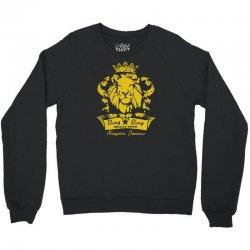 reggae lion bar Crewneck Sweatshirt   Artistshot